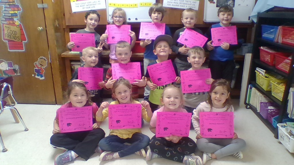 3rd quarter sight words awards
